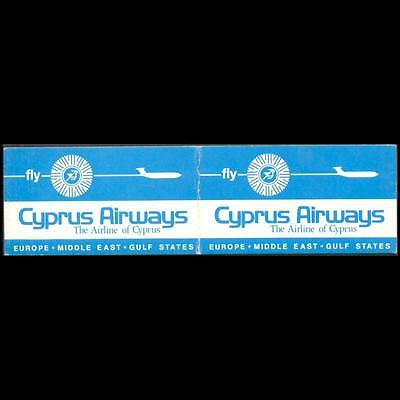 Cyprus 1978-1980 Cyprus Airways Light Blue Colour Stamps Booklet