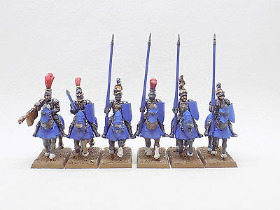 Empire plastic KNIGHTS with LANCES x6 Well Painted 37905