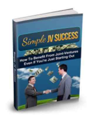 Simple JV Success eBook-PDF Master Resell Rights