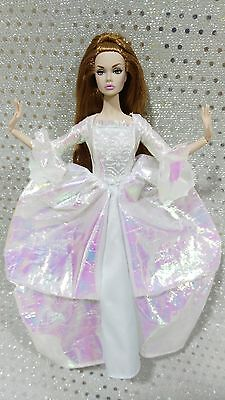 Barbie Vestido Outfit NO DOLL SOLO ONLY Collector Cinderella Fairy Godmother