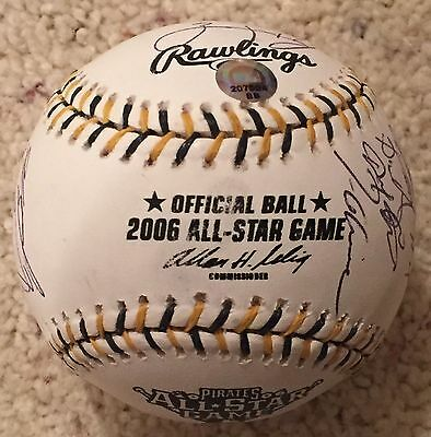 2006 N.L. All-Star Team - 21 Players Signed Baseball MLB Authenticated