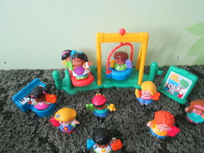 Fisher Price Little People Time To Learn School Counting Numbers 1-10 & more