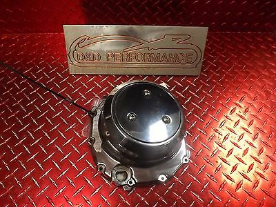 99 - 07 Hayabusa Oem Chrome Clutch Cover Has Some Marks Hb40