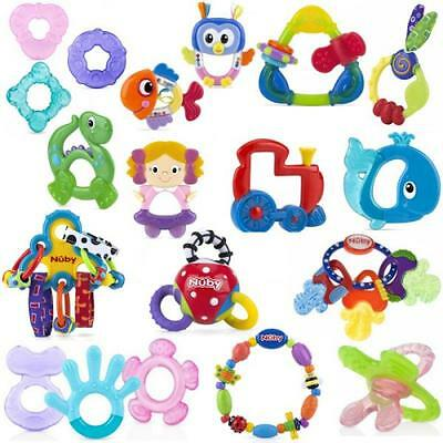 Nuby Teether Baby Teething Relief Award Winning Ice Bite Toy BPA Free