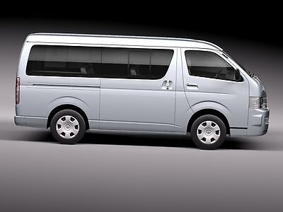 """Toyota Hiace 2006-2012 factory workshop service manual """"Download"""""""