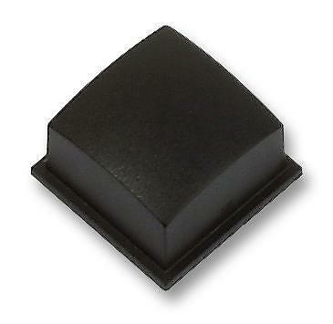 Switch Components - Caps - CAP SOFTLINE SQUARE BLACK - Pack of 10