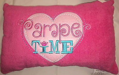 Towelling Bath Pillow Pamper Time Gift Secret Santa -- LOTS More styles in shop
