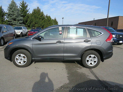 2014 Honda CR-V AWD 5dr LX AWD 5dr LX Low Miles 4 dr SUV Automatic Gasoline 4 Cyl Polished Metal Metallic