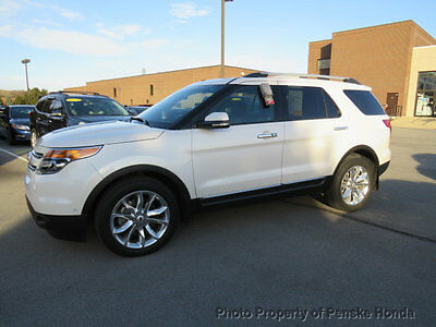 2014 Ford Explorer 4WD 4dr Limited 4WD 4dr Limited SUV Automatic Gasoline V6 Cyl WHITE