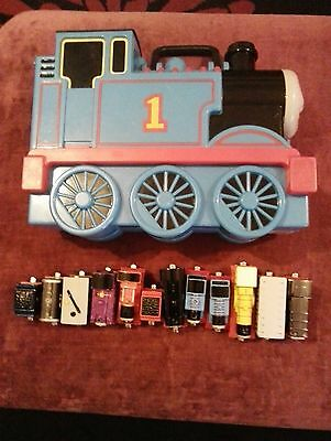 Thomas Tank engine, take n play carry case and magnetic trains bundle