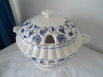 Spode Blue Colonel Blue Flower Pattern Soup Tureen Trial