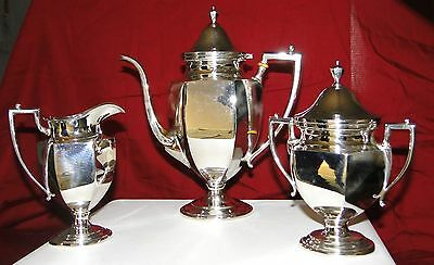 Frank M Whiting Sterling Coffee Set