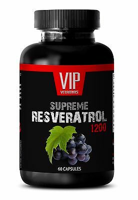 Natural Supplement - RESVERATROL Supreme 1200 mg - Building Up Your Energy - 1 B
