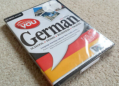 Teaching You German - Language Learning - *New & Sealed* - PC Mac - CD Rom