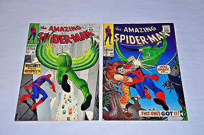 Amazing Spider-Man 48 49 Silver Age Lot HIGH GRADE Capital City Collection