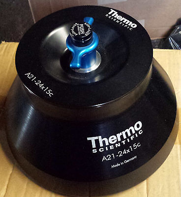 Thermo Scientific A21-24x15c Fixed Angle Rotor