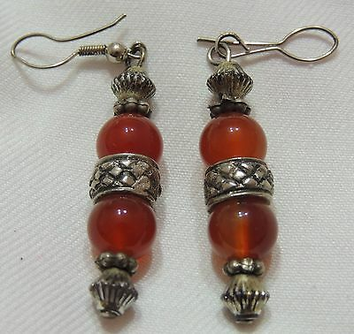Amazing Antique Ottoman Silver Earring