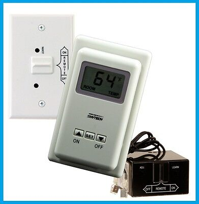 SKYTECH Model TS/R-2-A Wireless Thermostat Fireplace Control Wall Mount REMOTE