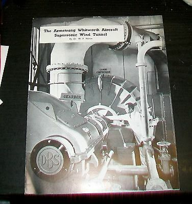 Armstrong Whitworth Aircraft Supersonic Wind Tunnel Article Reprint 1955