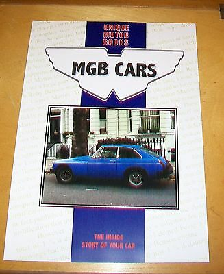 MGB CARS ROAD TEST & MOTOR TRADER SERVICING OVERHAUL REPRINT BOOK. UMB. 66 pages