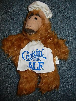Vintage Alf Hand Puppet Cookin' with Alf