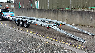 New Car Transporter Recovery Trailer 23 FT  3500 KG .