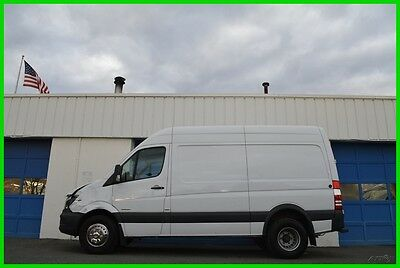"""2014 Mercedes-Benz Sprinter Sprinter 3500 Chassis 144"""" High Roof WB DRW Cruise Repairable Rebuildable Salvage Runs Great Project Builder Fixer Easy Fix Save"""