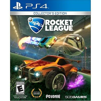 Rocket League Collector's Edition PS4 NEW