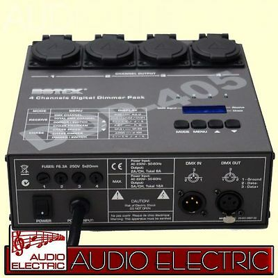 Botex DDP-405 Multi Switch Pack 4-fach DMX Dimmer