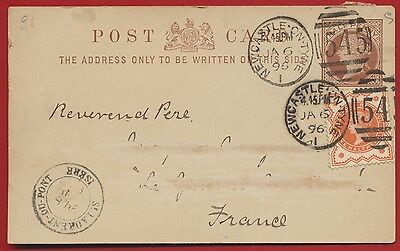 Post Card - Great Britain - 1896 - Newcastle-On-Tyme