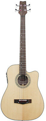 Stagg AB203CE-NS Electro-Acoustic bass Guitar