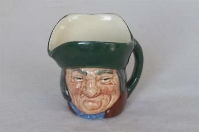 Royal Doulton Dickens Character Philpots Small Toby Jug Green A Stamp.