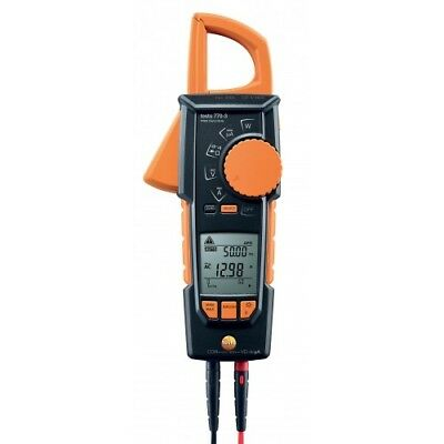 Testo 770-3 Hook-Clamp Digital Multimeter with TRMS, Power & Bluetooth, 600A