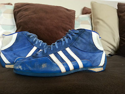 adidas vintage schuhe monza 80s racing boots schuhe west germany 26,5 cm 42,5