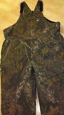 Mens 3XLarge MOSSY OAK Cotton Blend Camo insulated Hunting Coveralls