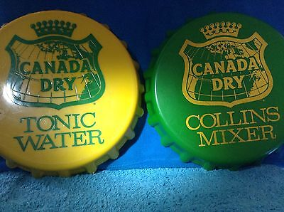 Vintage Canada Dry Mixer and tonic water  tray
