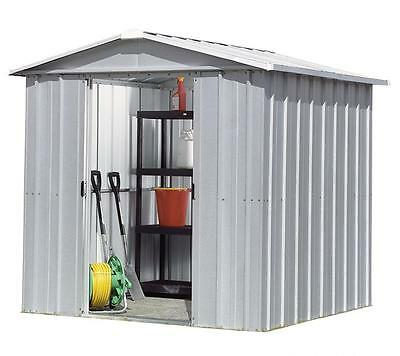 8488 Refurbished Yardmaster Apex Metal Garden Shed - Max Size 6ft 7in x 3ft 11in