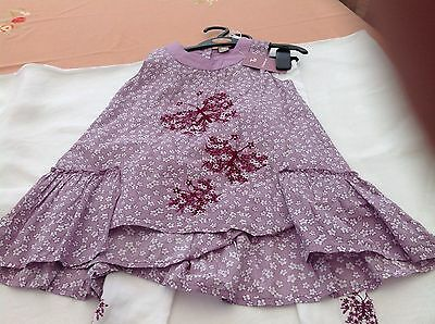 Lovely Girls dress and legging set for age 3 / 4 years  bnwt