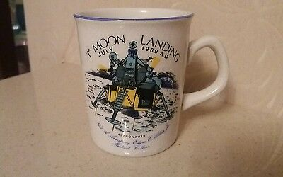 apollo 11 moon landing july 1969 commemorative crown ducal cup