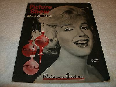 pictureshow magazine rare marilyn monroe cover & content
