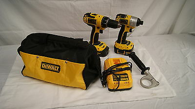 DeWalt 18V Impact Driver (DCF826) & Drill (DCD760) Combo Set **Free Shipping**