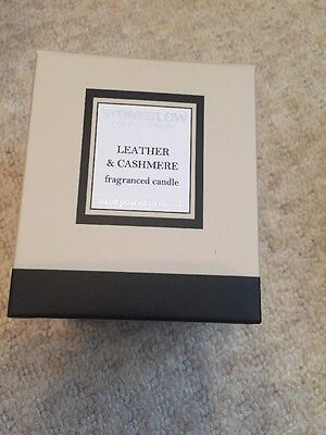 Stoneglow Candle Modern Classics Leather & Cashmere