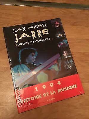 Jean Michel JARRE - Book Europe In Concerts - Like Brand New