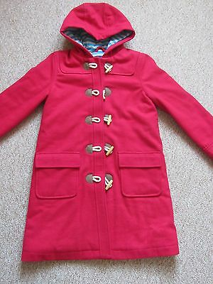 Mini Boden Red  Coat Age 11 To 12
