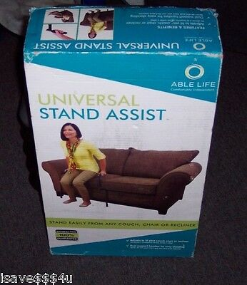 New Able Life Universal Stand Assist - Adjusts To Fit Chair, Couch & Recliner