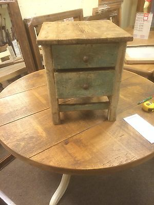 Antique Hungarian Table Rustic Vintage Old Pine Farmhouse Charm