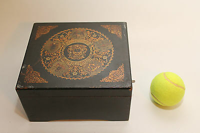 Antique Brevete Patent Symphonion Disc Musical Box in Good Condition