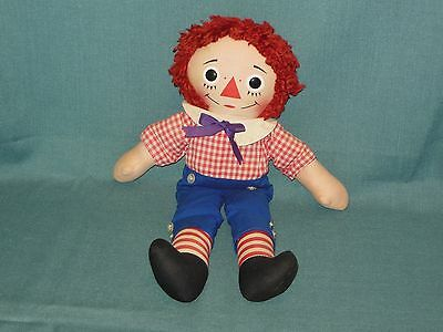 """Vintage 15"""" Raggedy Andy By Knickerbocker (Button Eyes)"""