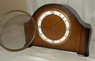 Schatz & Sohne W3 TRIPLE Chime MANTEL CLOCK Westminster WHITTINGTON St Michaels
