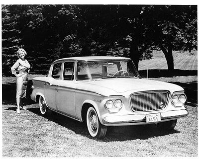 1961 Studebaker Lark 4 Door Sedan ORIGINAL Factory Photo oad2803-RCPQQ1